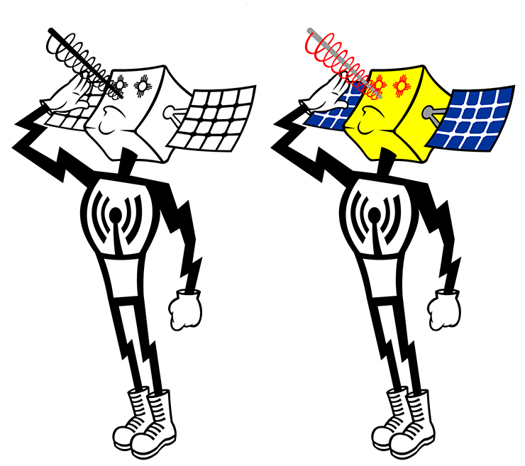 Directed Energy Mascot