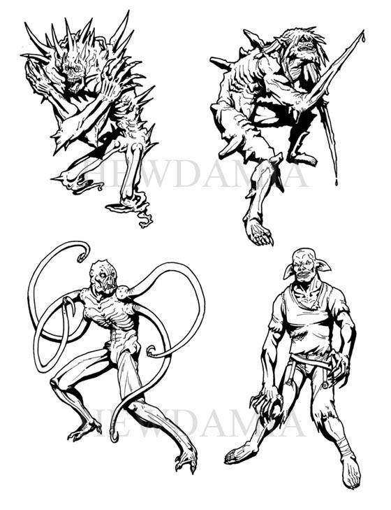 Character Artist / Freelance Illustrator looking for work!