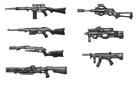 Ranged Weapons 002
