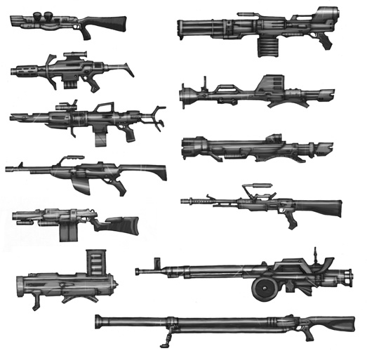 Ranged Weapons 003
