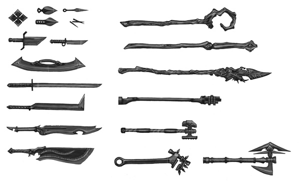 Melee Weapons 001